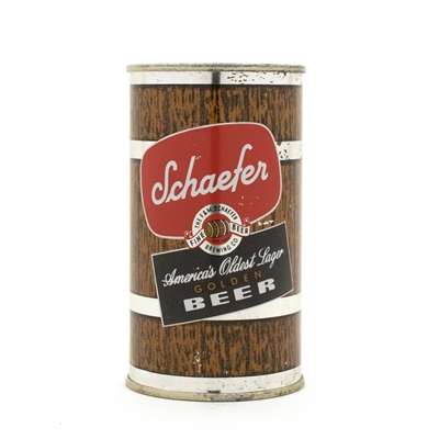 Schaefer Golden Beer Flat Top Can