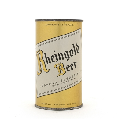 Rheingold Beer 'Big R' Flat Top Can