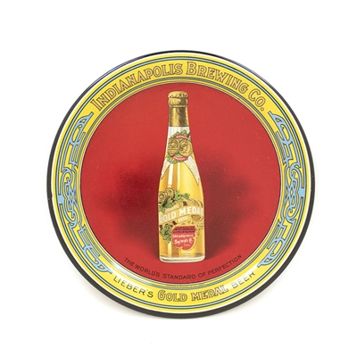 Indianapolis Brewing Gold Medal Bottle Tip Tray