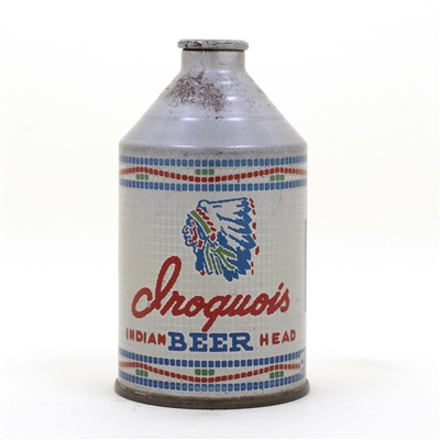 Iroquois Beer Crowntainer Cone Top