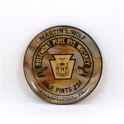 Rosemont Pure Rye Whiskey Tip Tray