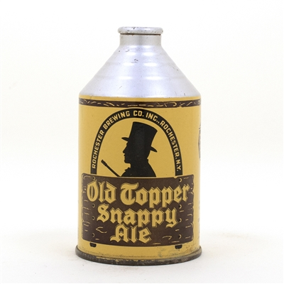 Old Topper Snappy Ale Crowntainer Cone Top