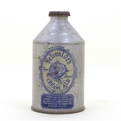 Schmidts Cream Ale Crowntainer Cone top