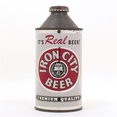 Iron City Real Beer 170-04 Cone Top Can