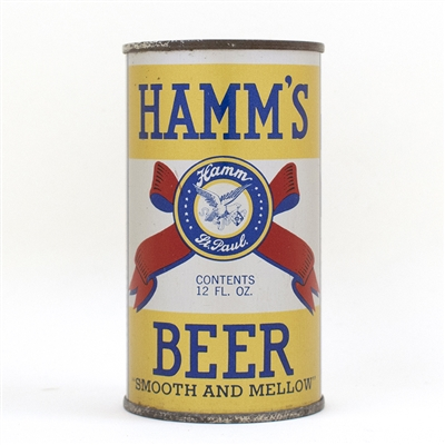 Hamms Beer Instructional Flat Top Can