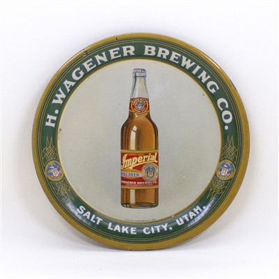 H. Wagener Brewing Salt Lake City Tip Tray