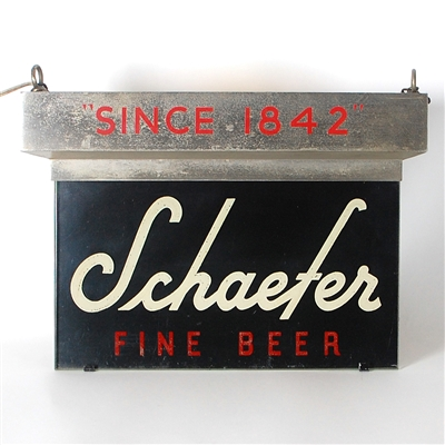 Schaefer Fine Beer Lighted Sign