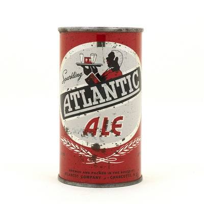 Atlantic Ale Flat Top Beer Can