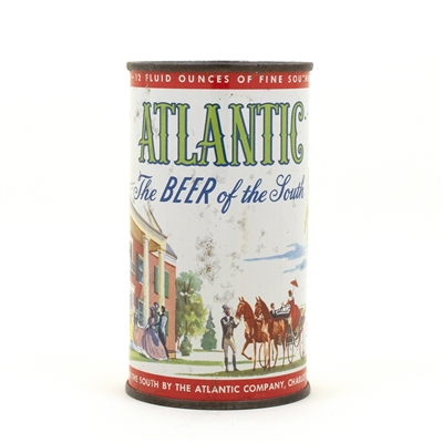 Atlantic Beer Flat Top Beer Can