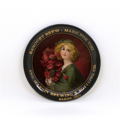 Marion Brewing Blonde Flowers Tip Tray