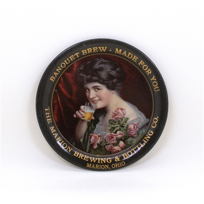 Marion Brewing Toasting Brunette Tip Tray