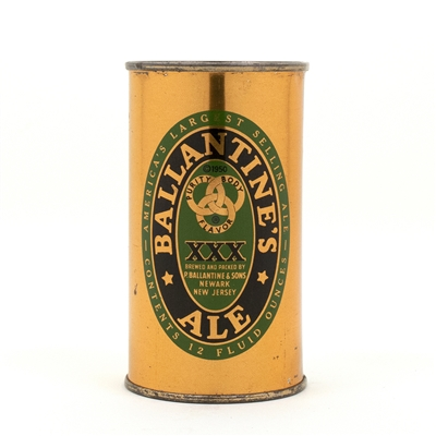Ballantines Ale Flat Top Beer Can