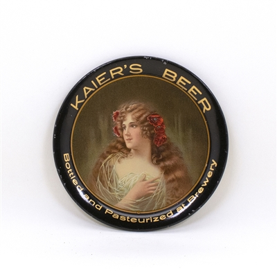 Kaiers Beer Blue Dress Tip Tray