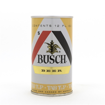 Busch Beer Test Issue Pull Tab Can