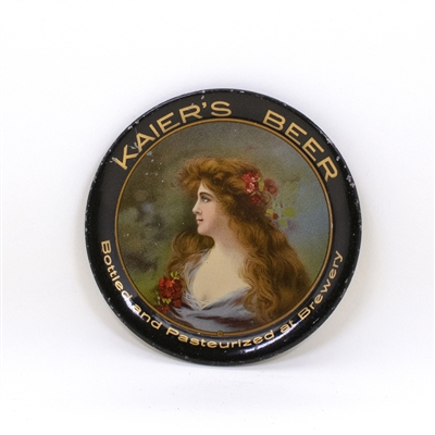 Kaiers Beer Red Flowers Hair Tip Tray