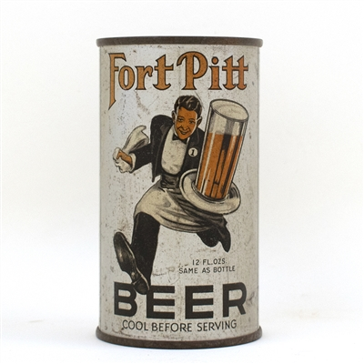 Fort Pitt Beer Running Waiter Instructional Can