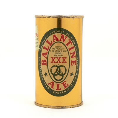 Ballantine Ale Brewers Gold Flat Top Beer Can