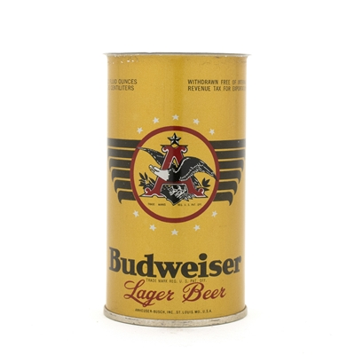 Budweiser Beer WFIR Opening Instruction Flat Top