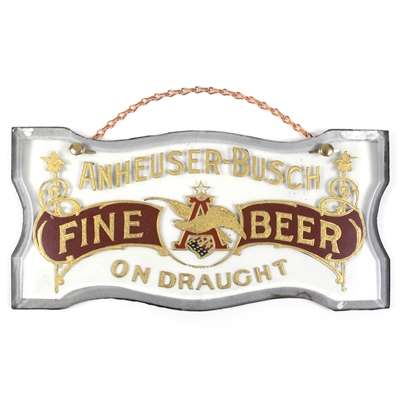 Anheuser-Busch Fine Beer On Draught RPG Sign
