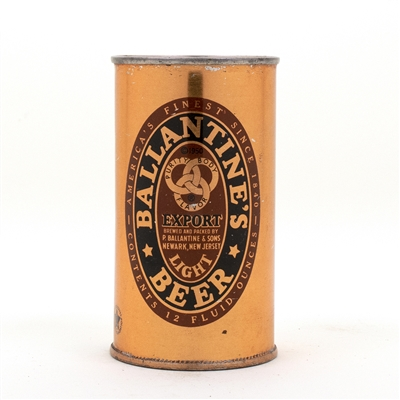 Ballantines Beer Flat Top Beer Can