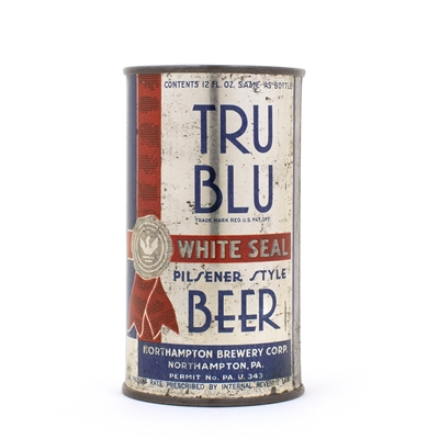 Tru Blu Whte Seal Instructional Flat Top