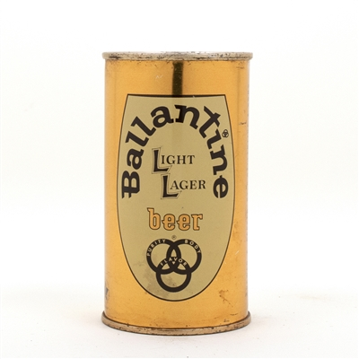 Ballantine Beer Flat Top Beer Can
