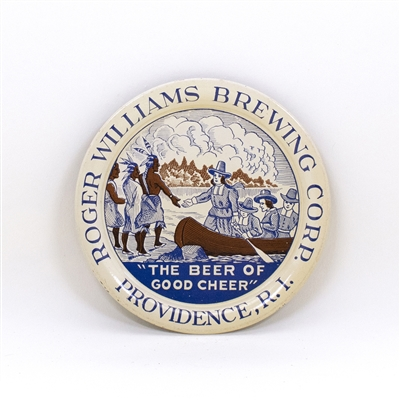 Roger Williams Native American Pilgrims Tip Tray
