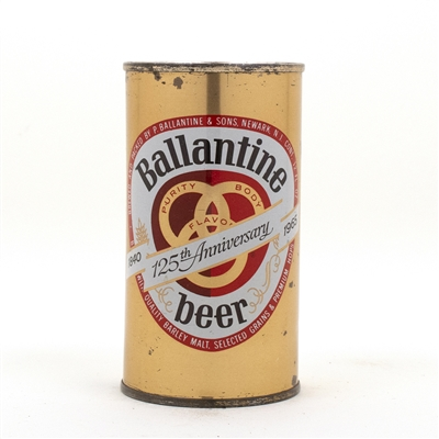 Ballantine 125th Anniversary Flat Top Can