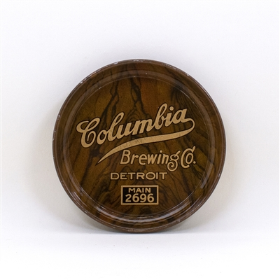 Columbia Brewing Detroit Woodgrain Tip Tray