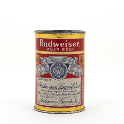 Budweiser 10 oz. Flat Top Beer Can
