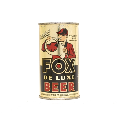 Fox Deluxe Beer Can 292