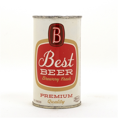 Best Beer Flat Top Beer Can