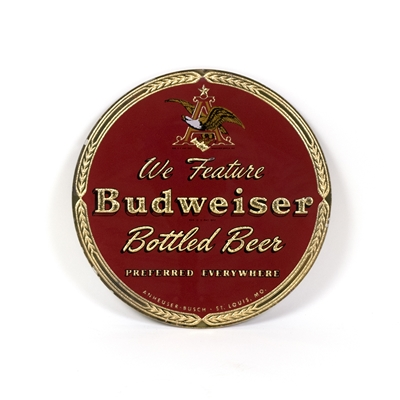 Budweiser Bottled Beer Small RPG Sign