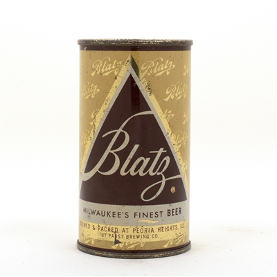 Blatz Beer Flat Top Beer Can