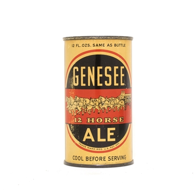 Genesee 12 Horse Ale Can 319