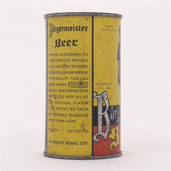 Lot Detail Burgermeister Beer Oi 177